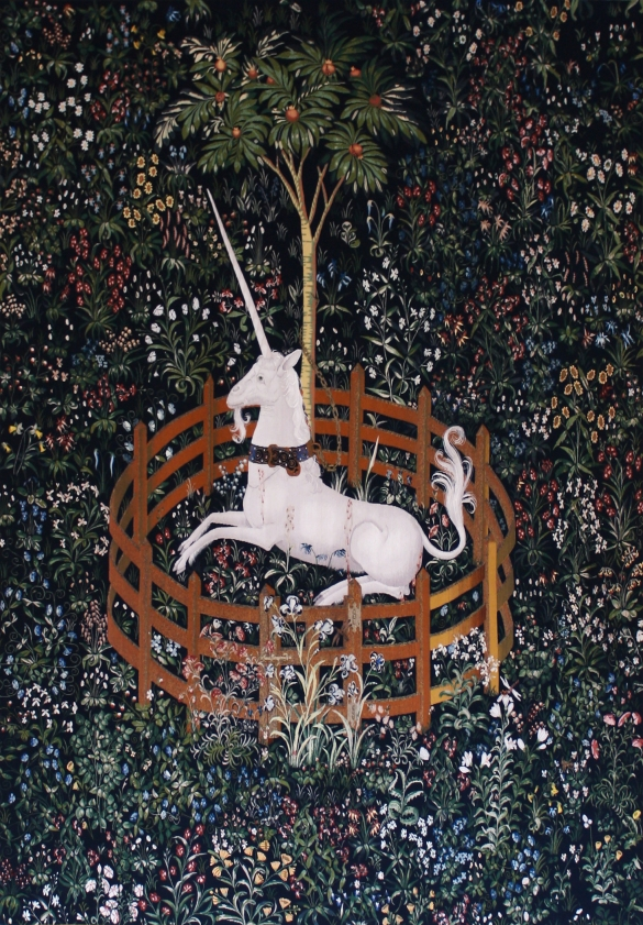 The hunt of the unicorn, tapestry #6