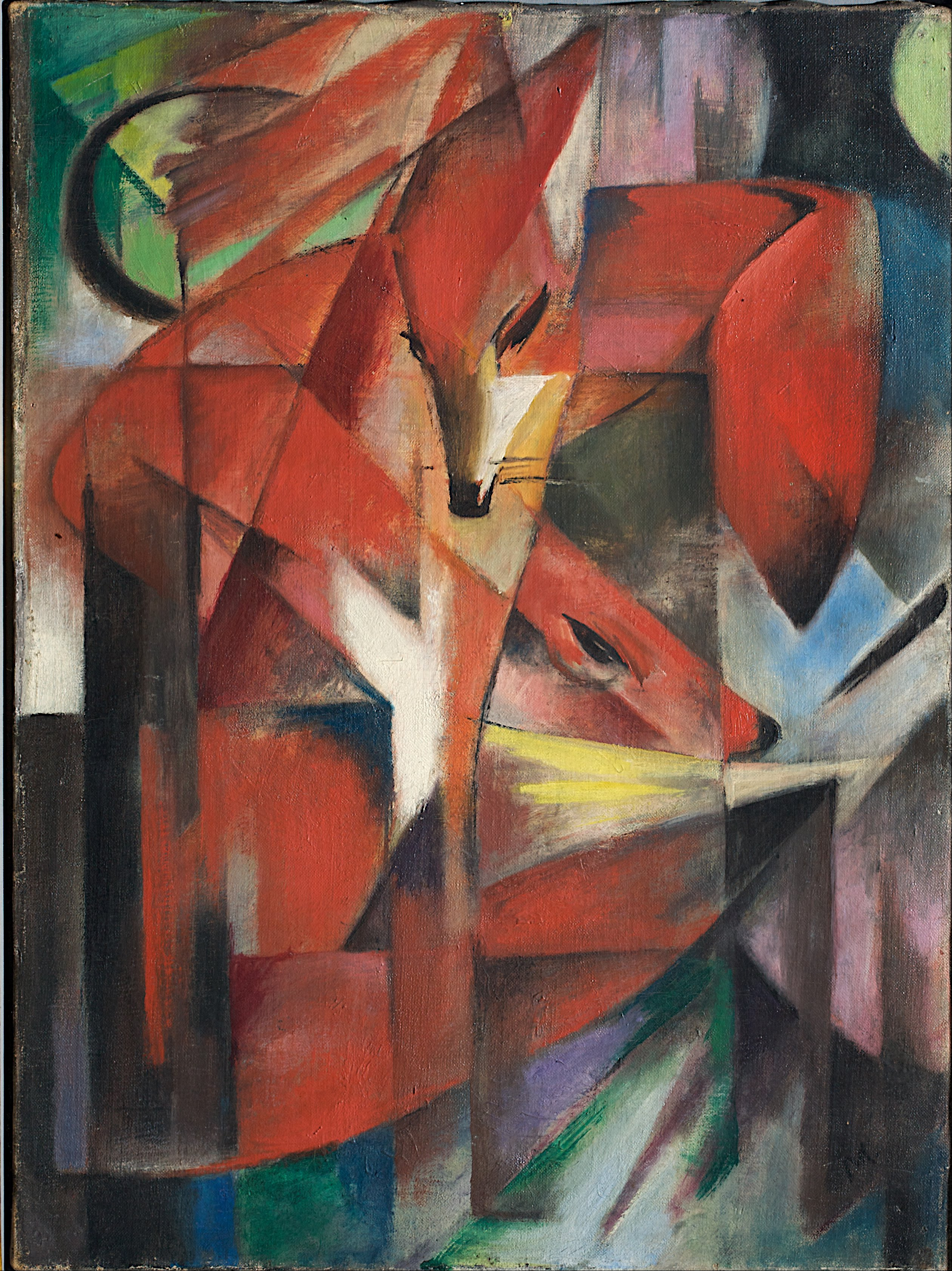 Franz_Marc_-_The_Foxes_-_Google_Art_Project